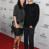 Courteney Cox and Johnny McDaid attended a Tribeca Film Festival event in LA on Monday.