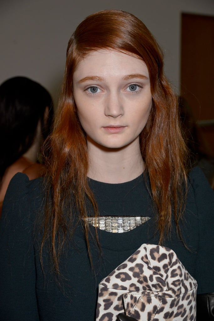Carven Fall 2014 Hair and Makeup | Runway Pictures