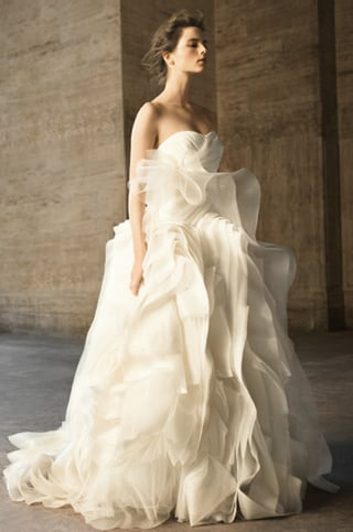 Vera Wang David's Bridal Wedding Dresses 2010-04-20 10:00:22