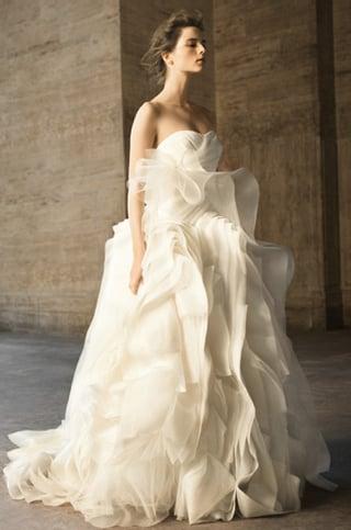 Vera Wang David's Bridal Wedding Dresses 2010-04-20 10:00:22
