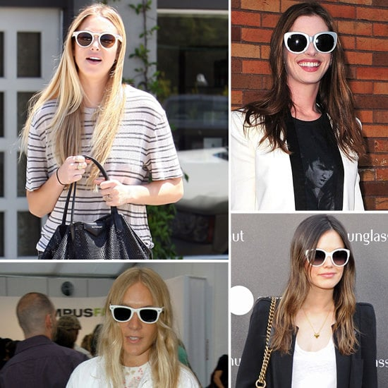 White Sunglasses Are So Summery — See How Celebrities Wear Theirs