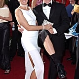 Felicity Huffman and William H. Macy at the 2004 Emmy Awards