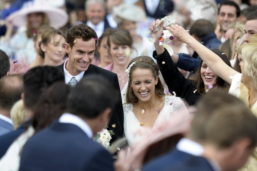 From his big Wimbledon and Olympics wins to their fairy-tale wedding, Andy Murray and Kim Sears have shared some memorable moments over the last few years. Wherever the Scottish tennis ace goes, his gorgeous new wife is there to cheer him on (sometimes showing a little too much emotion). The pair are now expecting their first child, and as they move into the next chapter of their lives we're taking a look back at their most memorable moments so far. We're sure there will be many more to come when mini Murray arrives!