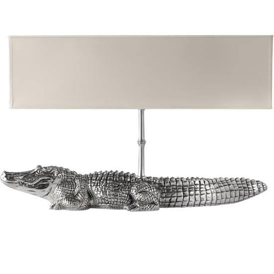 Love It or Hate It? Cipola Pewter Crocodile Lamp