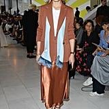Olivia Palermo at the Max Mara Milan Fashion Week Show