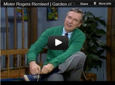 "Mr. Rogers Tribute Video - ""Garden of Your Mind"""