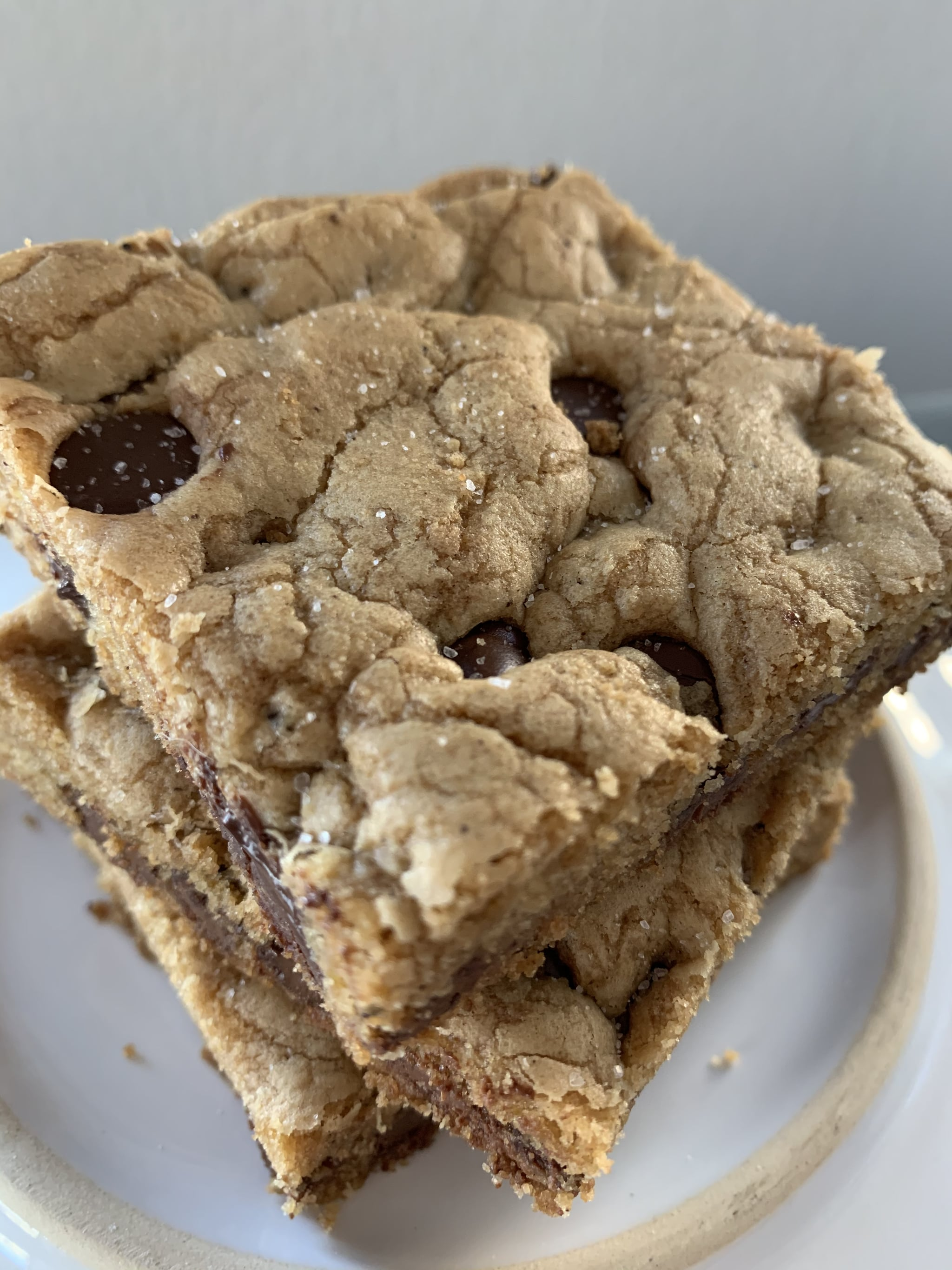 Attention! These Salted Brown Butter Chocolate Chip Cookie Bars Are Next-Level Good