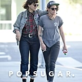 Kristen Stewart Shows PDA With a Mystery Woman in LA