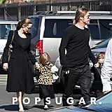 Angelina Jolie and Brad Pitt Valentine's Day Pictures