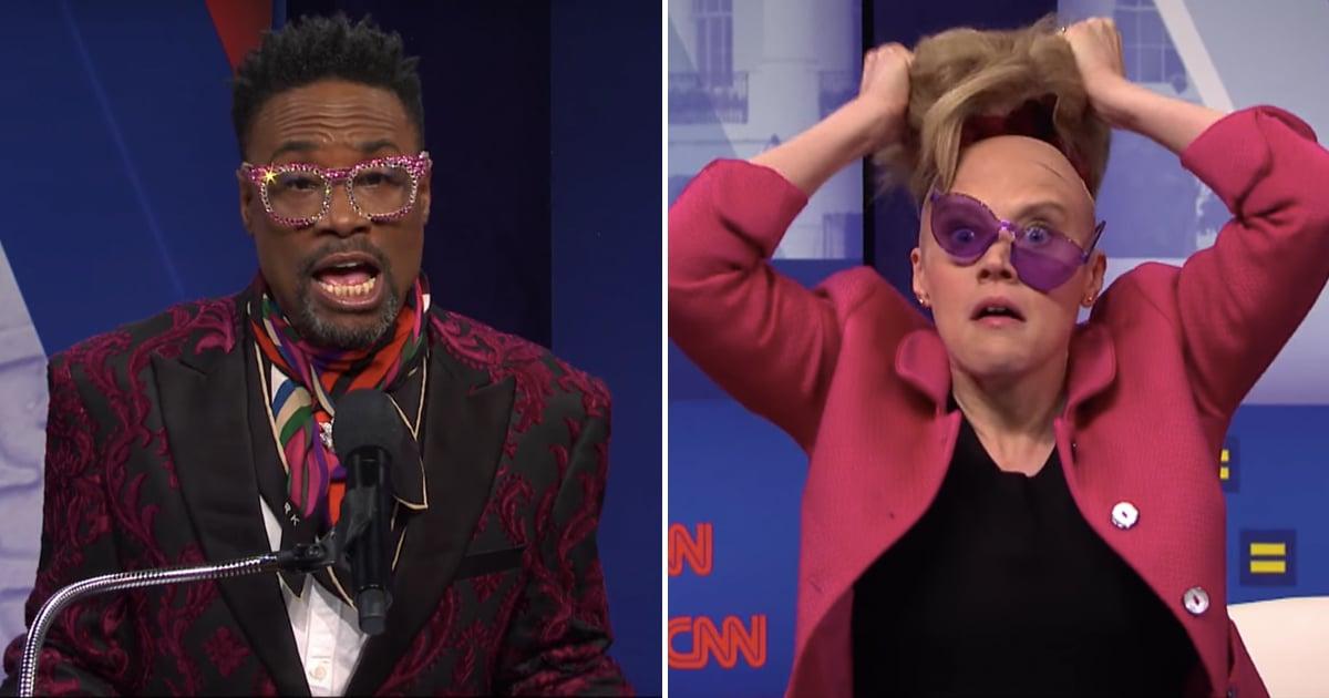 Watch Saturday Night Live S Cnn Equality Town Hall Skit
