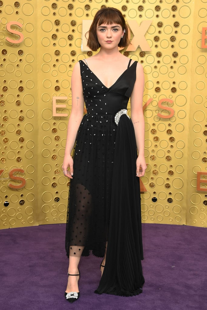 Maisie Williams at the 2019 Emmy Awards