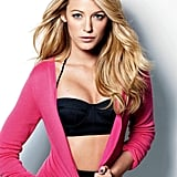 Blake Lively wore a bikini top for a December 2009 Marie Claire shoot.