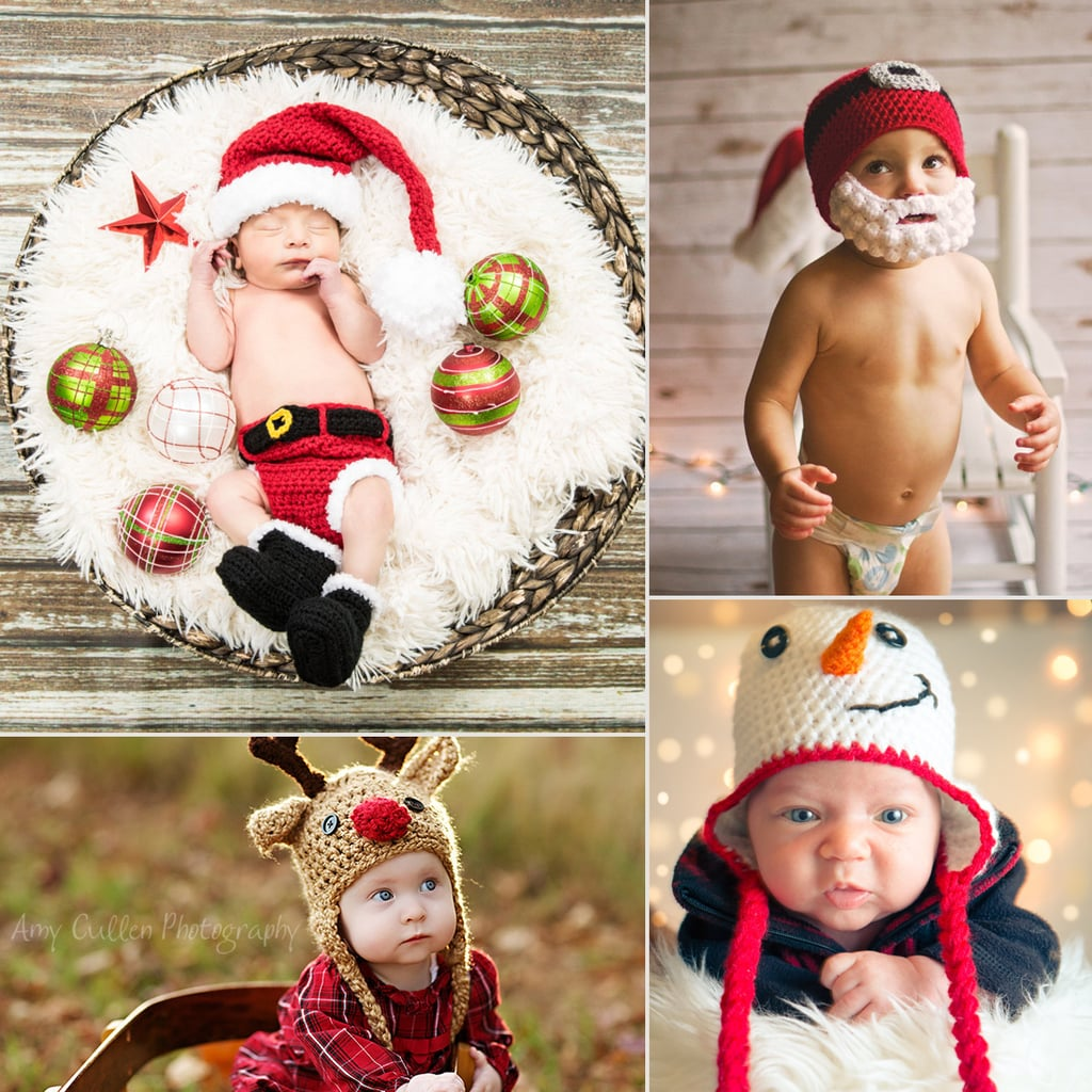 Crocheted Christmas Outfits For Babies | POPSUGAR Family