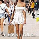 Emily Ratajkowski White Dress Instagram