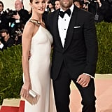 Rosie Huntington-Whiteley and Jason Statham — 2016