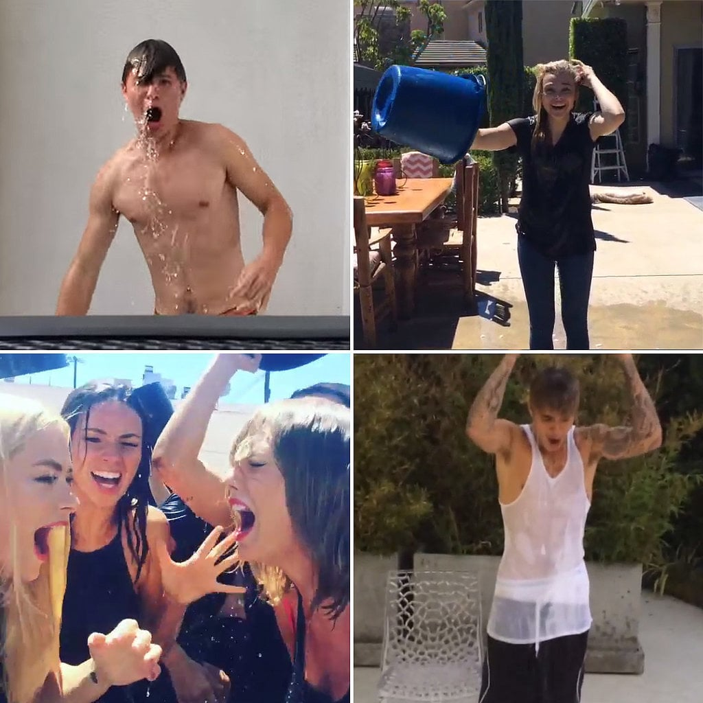 Celebrities Accept the Ice Bucket Challenge | Video