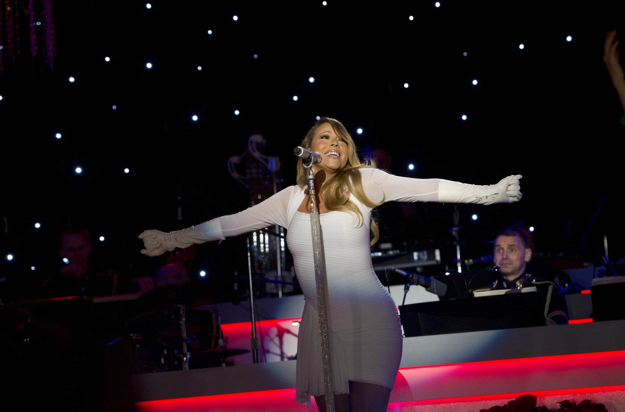 Mariah Carey Belted Out During