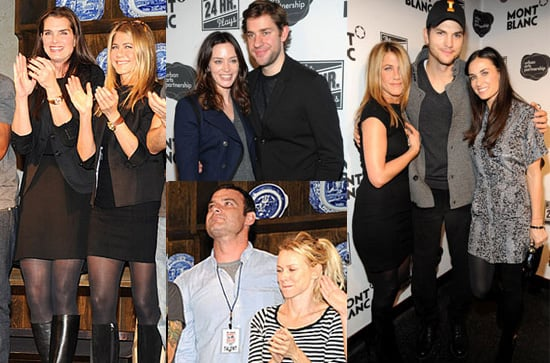 Photos of Jennifer Aniston, Demi Moore, Liev Schreiber, Naomi Watts, And Ashton Kutcher Doing 24 Hour Plays in NYC