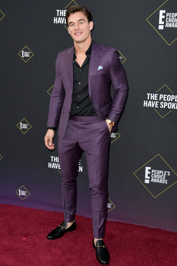 Tyler Cameron at the 2019 People's Choice Awards