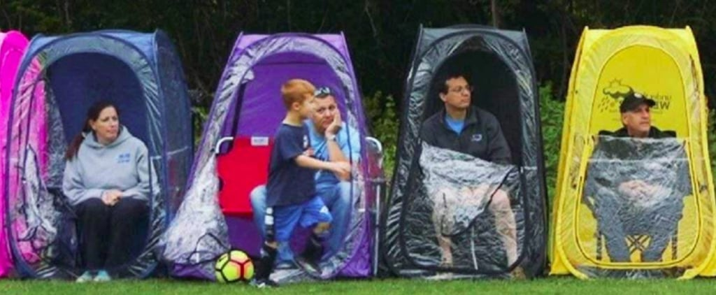 Every Sports Mom Deserves 1 of These Genius Weather Pods