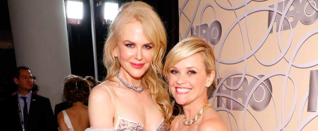 It's No Lie, Nicole Kidman and Reese Witherspoon Were So Cute at This Golden Globes Bash