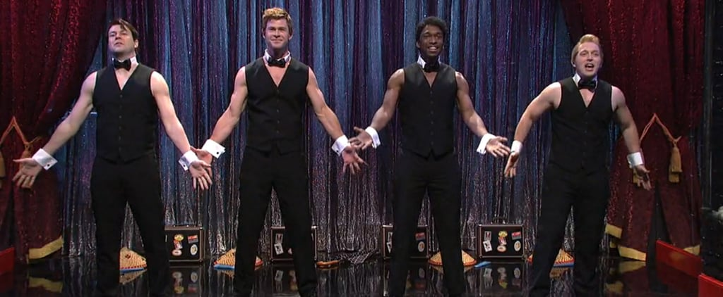 Chris Hemsworth's SNL Stripping Sketch