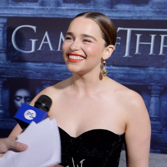 Emilia Clarke Talking About Game of Thrones Season 6