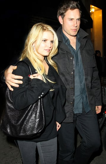 Pictures of Jessica Simpson and Eric Johnson in NYC for Thanksgiving