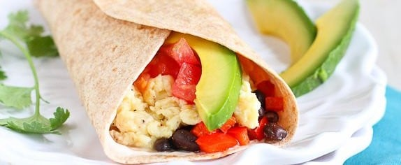 You'll Bounce Right Out of Bed For These Healthy Breakfast Wraps