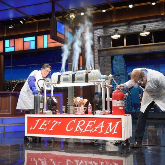 Alton Brown on Stephen Colbert November 2016