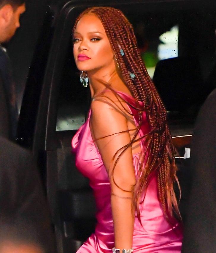 Rihanna In Long Knotless Box Braids Colour 35 15
