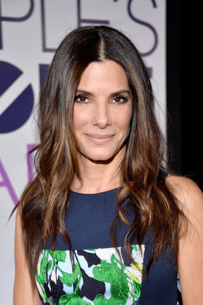 Sandra Bullock Hair And Makeup At People S Choice Awards