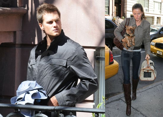 Tom and Gisele Skip the St. Patty's Day Parades