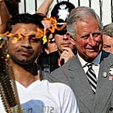 Prince Charles and Camilla Get Into the Olympics Spirit