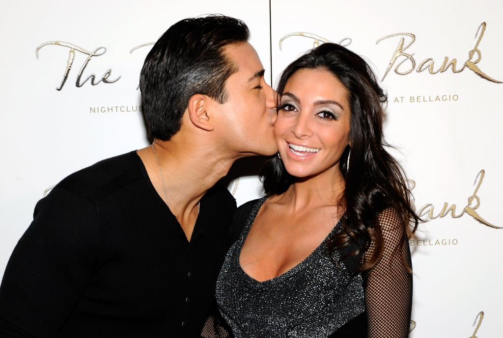 """Mario Lopez tied the knot with actress Courtney Mazza in December 2012, and the pair have been going strong ever since. The couple have two beautiful kids together, 6-year-old daughter Gia and 3-year-old son Dominic, and the story of how their romance came to be is just as precious.   Courtney first caught Mario's eye when they starred together in the Broadway revival of A Chorus Line back in 2008. """"She's beautiful, but aside from that, she's extremely talented,"""" Mario previously told Extra. """"Then she ignored me, so that made me even more attracted to her!"""" Mario was """"very persistent,"""" and after about a month, Courtney finally gave in, she met Mario for a drink, and the rest is history. """"He was very charming,"""" Courtney gushed. In honor of their romance, take a look at their cutest moments together.      Related:                                                                                                           These 10 Hot Shirtless Pictures of Mario Lopez Will Leave You Breathless"""