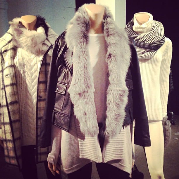 It may be Summer, but Club Monaco's Fall collection is already making us look forward to bundling up.