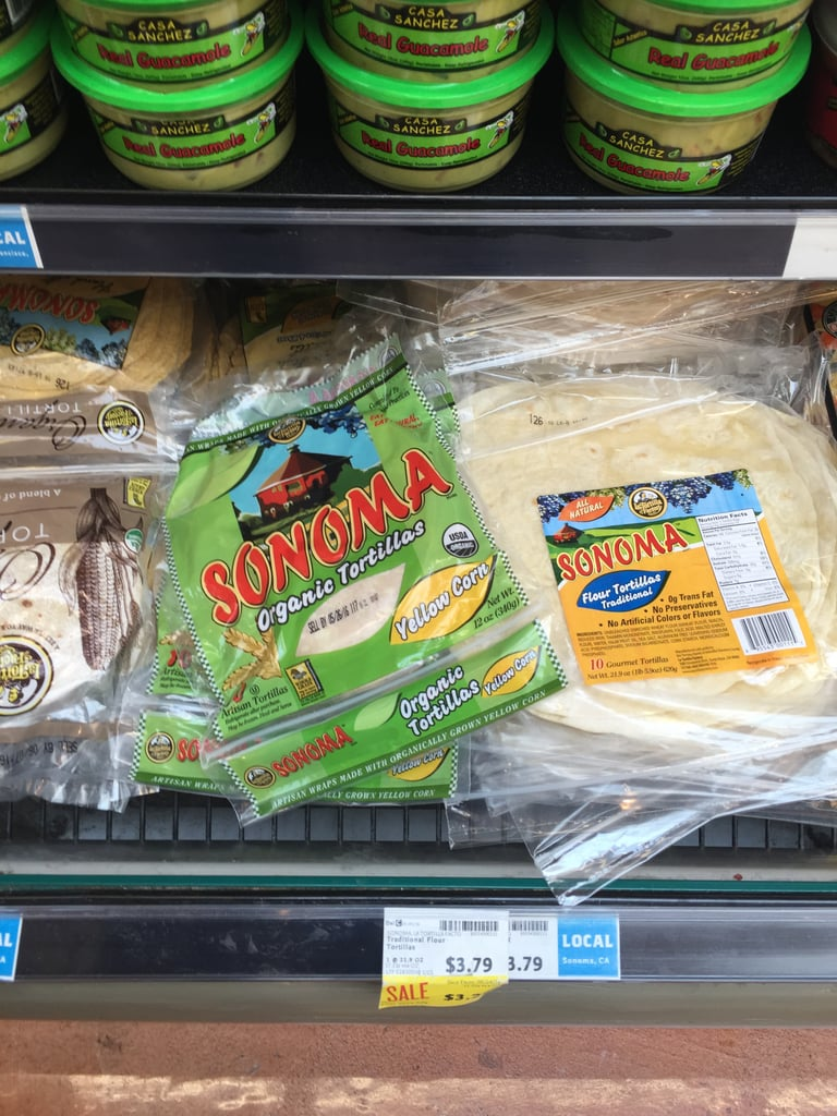 Best Whole Foods Product: Sonoma Organic Tortillas ($4)