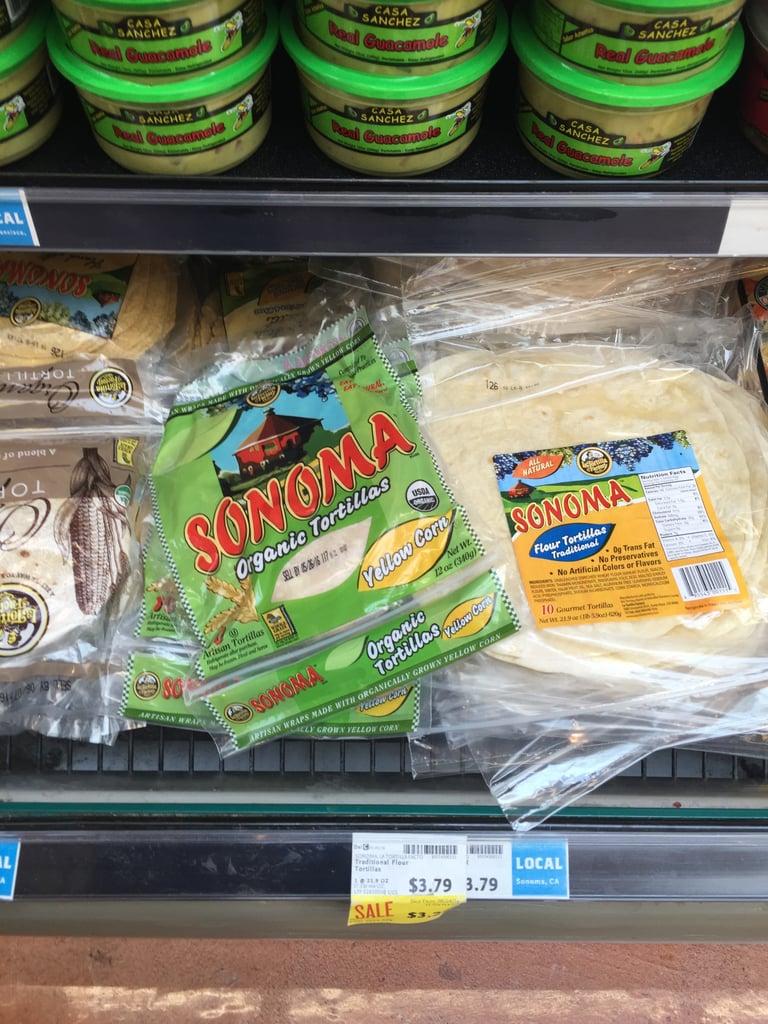 Sonoma Organic Tortillas ($4)