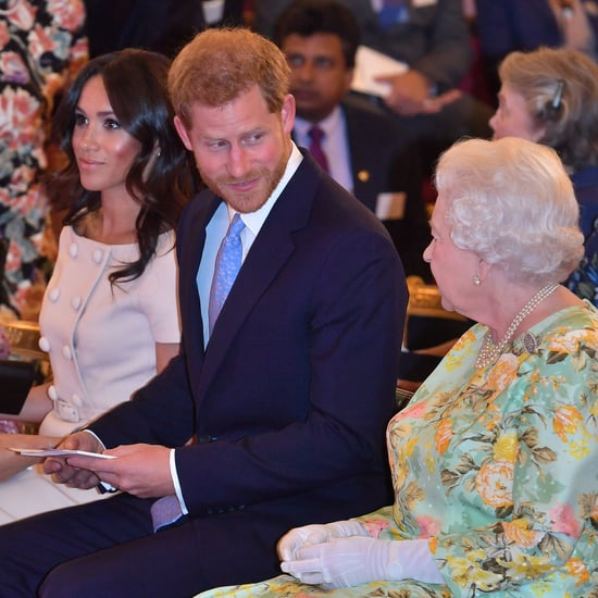 Video of Prince Harry Talking About Bumping into the Queen