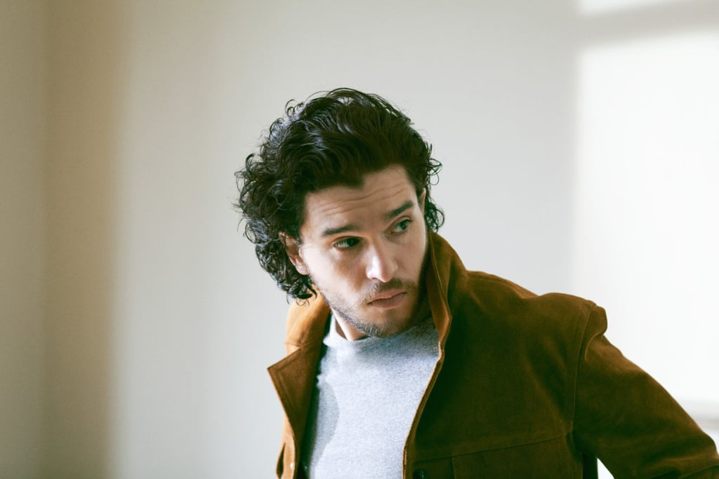 """Kit Harington talks fame, gratitude, and Game of Thrones in his new interview with the MR PORTER Journal, and the sexy star shows off his good looks in the gorgeous photo shoot. Talking about his popular role as Jon Snow, Kit called the Game of Thronesexperience """"an extraordinary journey,"""" and he explained that he doesn't let his character's broody nature affect him, saying, """"I'm nowhere near being a Method actor."""" (Proof: Kit's many smiley moments.) Keep reading to see some of Kit's must-read quotes, then check out more of Kit's feature on MrPorter.com.  On the effects of fame: """"It can make you feel like a nutcase some of the time. It has turned people I know mad. But you just surround yourself with people who don't kiss your arse, who don't put up with any kind of arrogance that might be seeping through."""" On when he knew Game of Thrones would change his life: """"I think the moment I realized [Game of Thrones] could be a life changer personally was going to Comic-Con for the first time. I'd splashed out on a drop-top Mustang in LA, and I drove with my girlfriend at the time to San Diego. I got out of the car and . . . flashbulbs!"""" On whether playing Jon Snow can be difficult: """"It's very physically demanding, but I think Jon is quite straightforward. I find I get in a certain mood that maybe can be a bit dour. But I'm nowhere near being a Method actor."""" On his quick success: """"There's that saying about never find success too early. And there are moments when I think maybe I would find it easier not to take this for granted if I'd toiled a bit more first. But I'd be stupid to say that I regret it. I'd be stabbed by many unemployed actors, quite rightly. This has opened so many doors to me, and it's my job now to do as much as I can with my career."""" On feeling grateful for his career """"You have to look at your blessings, don't you? With Thrones, I have to realize that, whatever happens, and for all the stress and the pressure that goes with it, it's been an extraordinary """