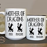 Game of Thrones Mother of Dragons Personalized Coffee Mug