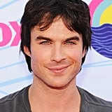 Ian Somerhalder smiled at the Teen Choice Awards.