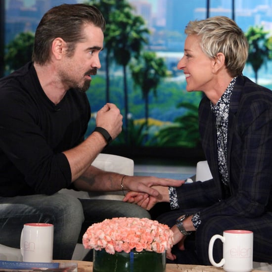 Colin Farrell Talking About Donald Trump on The Ellen Show