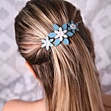 Blue Barrette ($13)