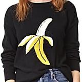 ENGLISH FACTORY Banana Print Sweater