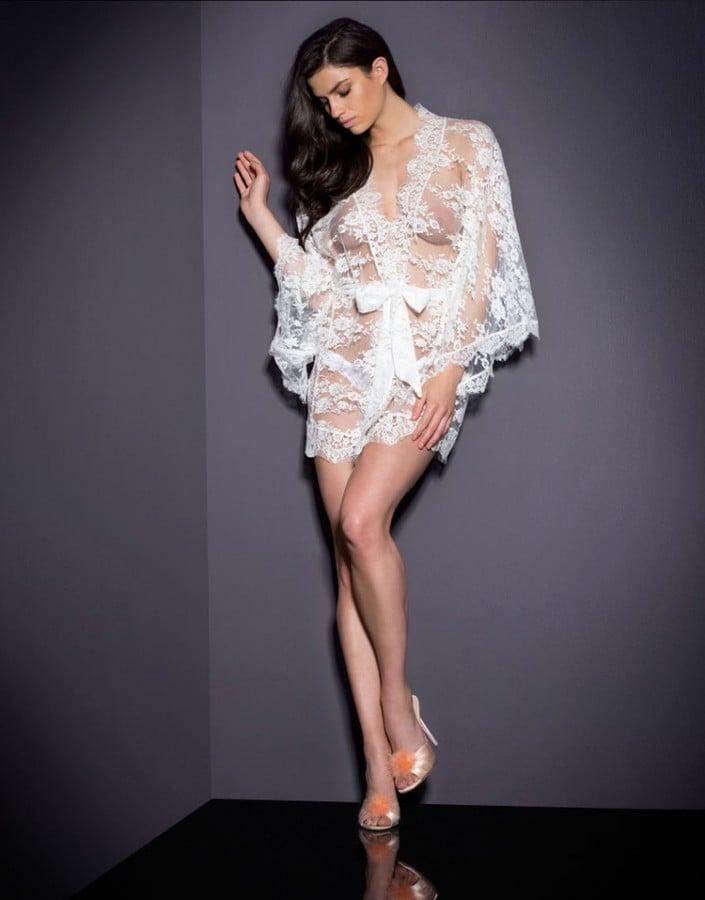 Matinee Kimono White ($895)