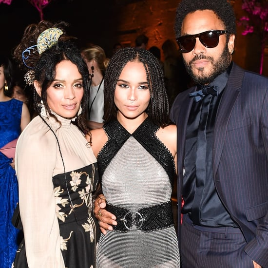 Zoe Kravitz With Her Parents Pictures