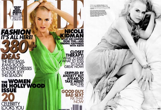 Nicole Kidman For Elle Magazine