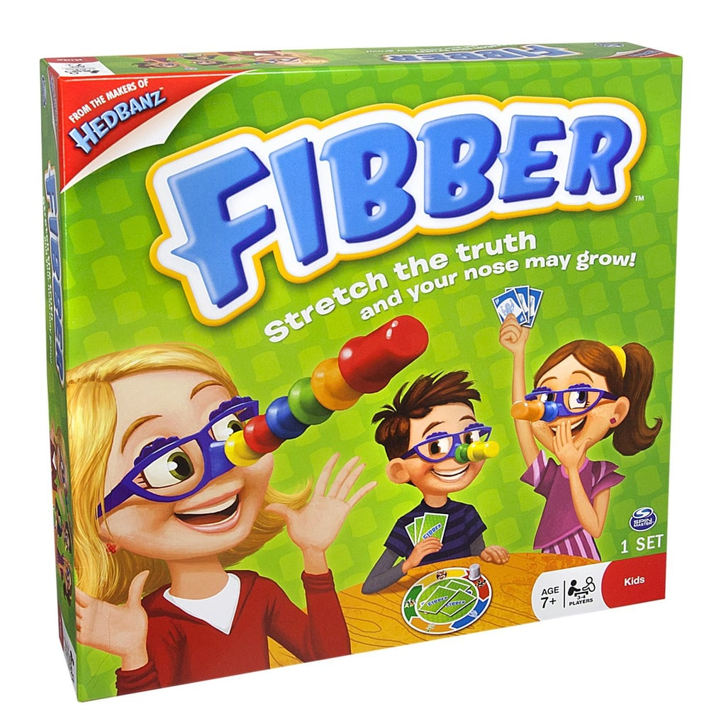 For 7-Year-Olds: Fibber Board Game