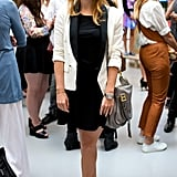Princess Beatrice popped up at the Markus Lupfer presentation on Saturday.